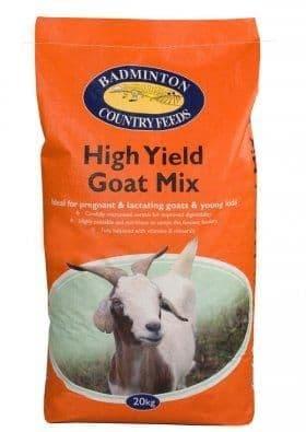 Hi yield goat mix (molassed)